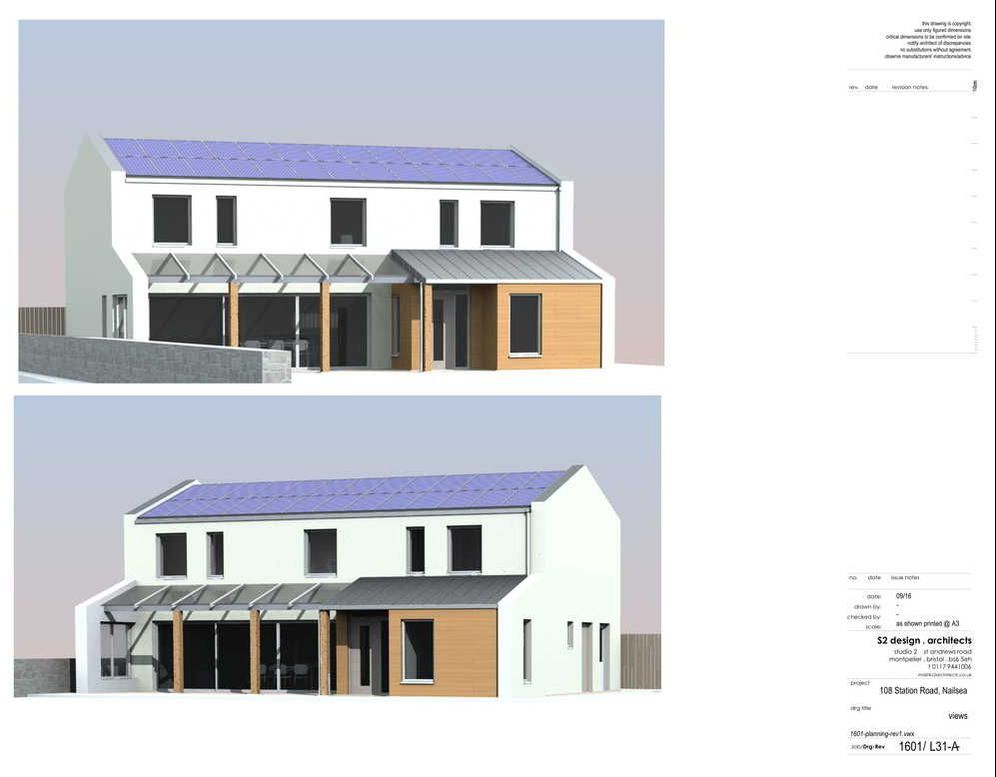 Passivhaus built by Bristol builders Greenheart with design and consultancy by Piers Sadler and S2 Design